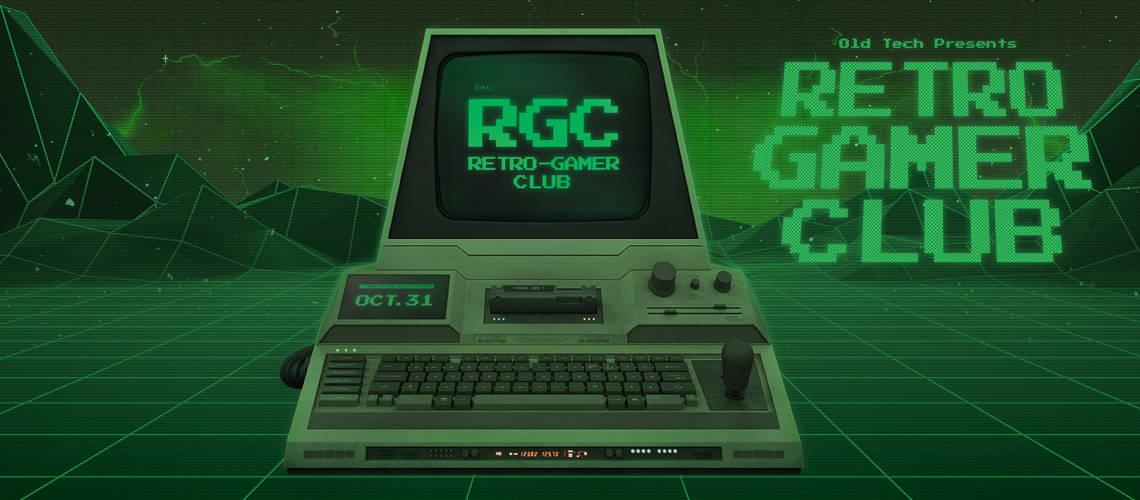 The Retro Gamer Club oldschool computer