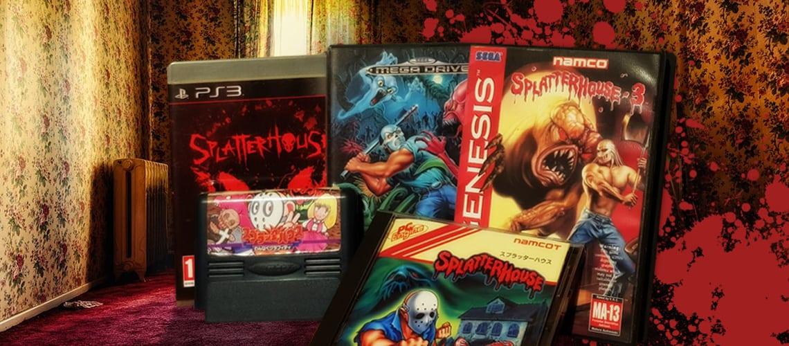 The Splatterhouse games