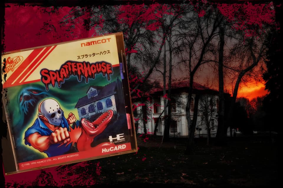 Splatterhouse for the PC Engine