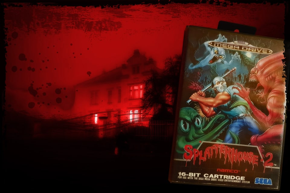 Splatterhouse 2 for the Megadrive