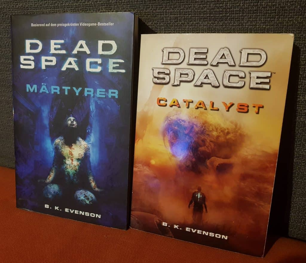 The Dead Space books