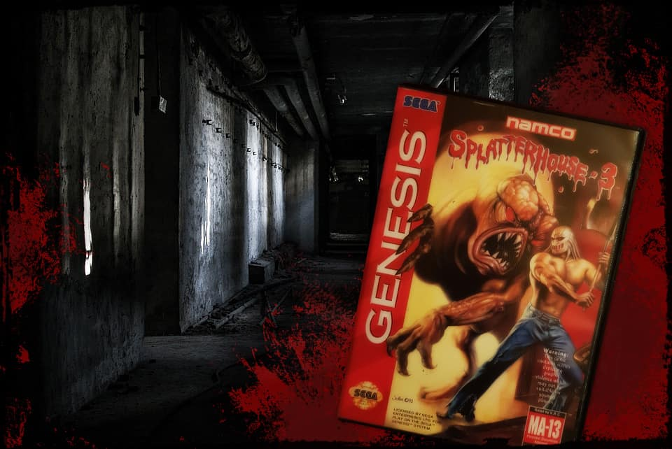Splatterhouse 3 for the Megadrive