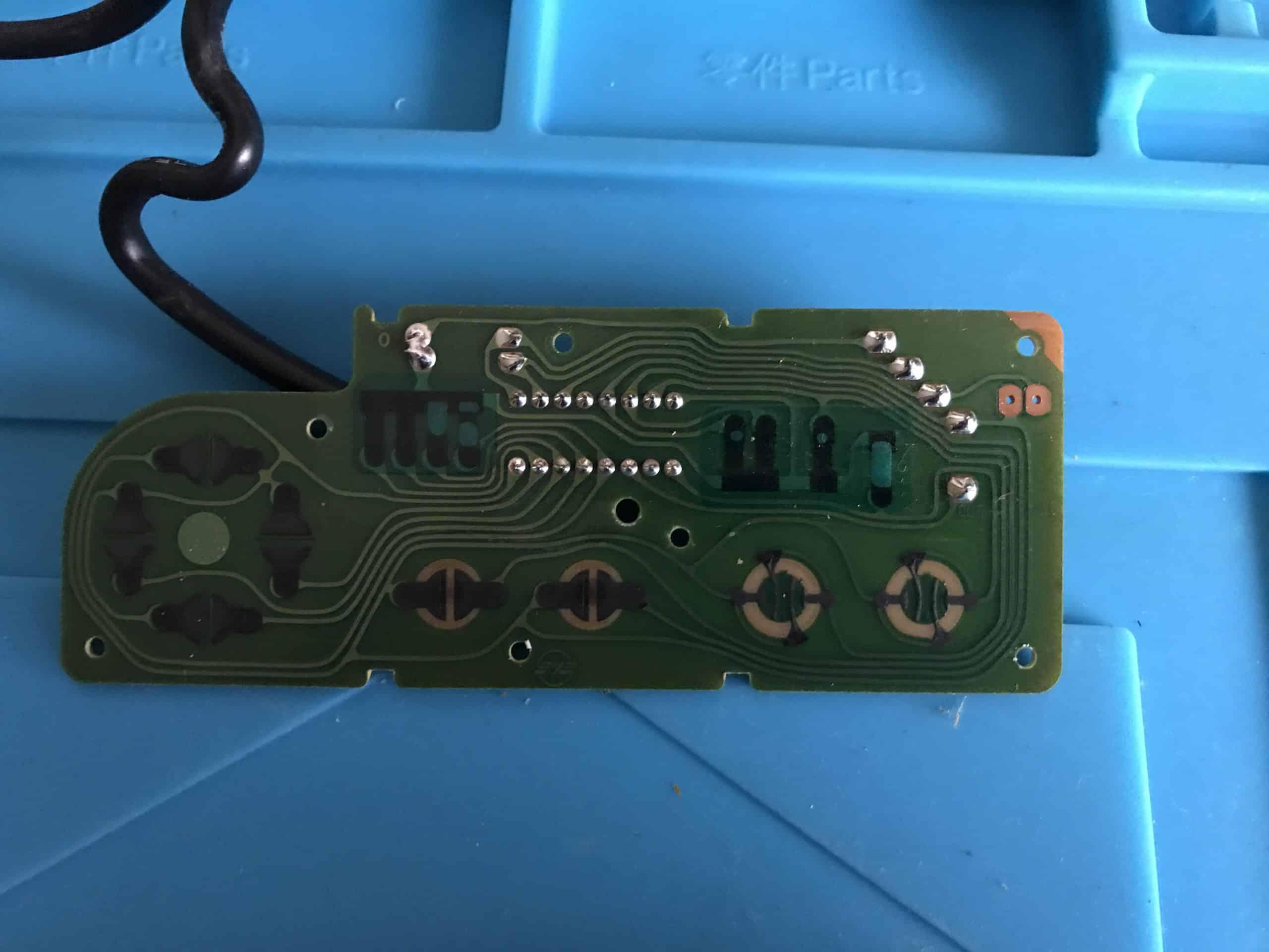 NES controller board