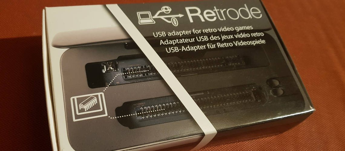 The Retrode USB adapter